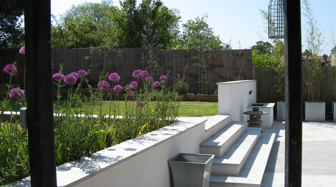 Contemporary Family Gardenwest Finchley North London