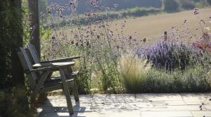 Hertfordshire barn garden design and stunning planting by Amanda Broughton