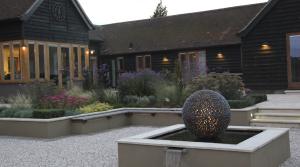 Barn garden design by Amanda Broughton