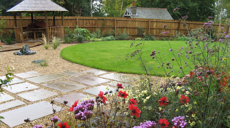 Informal three acre gardenenfield amanda broughton for Informal garden designs