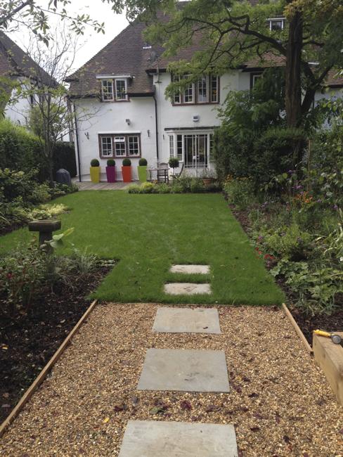 Hampstead Garden Suburb garden make-over by Amanda Broughton Garden Design