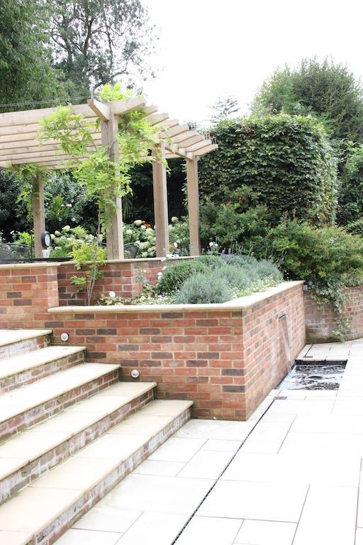 Garden in Wheathampstead, Hertfordshire by Amanda Broughton