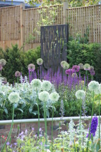 New build garden design and planting in Harpenden by Amanda Broughton