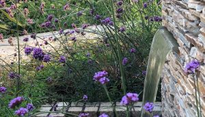Add sound and movement to your garden design with a water feature!