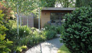Office Garden design Hertfordshire