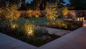 Lighting by garden designer Amanda Broughton