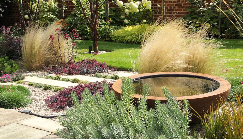 Garden and planting design in Much Hadham by garden designer Amanda Broughton