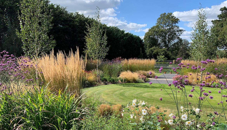 Prairie style planting in Hertfordshire garden design ...