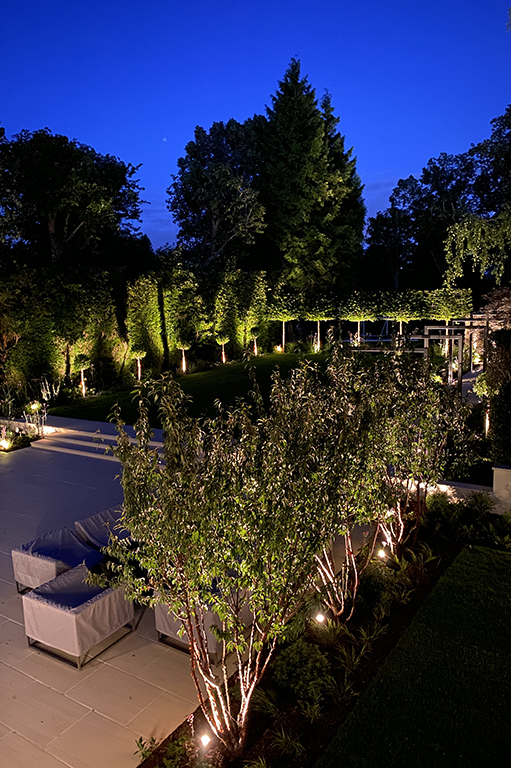 Garden lighting for outdoor living and entertaining