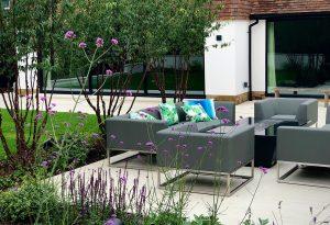 Home improvements reflecting the new garden design